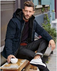 Casual Outfit Ideas For Guys Pictures 100 dynamic winter fashion ideas for men page 2 of 3 Casual Outfit Ideas For Guys. Here is Casual Outfit Ideas For Guys Pictures for you. Casual Outfit Ideas For Guys casual coat outfit ideas for men men. Men Over 40, Winter Outfits Men, Mens Boots Fashion, Layered Fashion, Men Style Tips, Adidas Superstar, Winter Fashion, Men Casual, Casual Winter