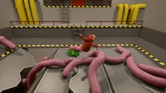 Gang Beasts on PS4 will have local and online play: Gang Beasts is a dang good time with friends, enemies, and families. It even made Nic's…