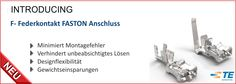 SHC GmbH - Neuer F- Federkontakt FASTON Anschluss