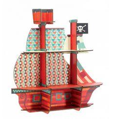 Pirate Ship Shelf