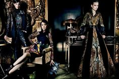 Etro Autumn Winter 2013 Ad Campaign