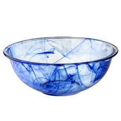 Pyrex Watercolor Collection Blue Lagoon 4-qt Mixing Bowl