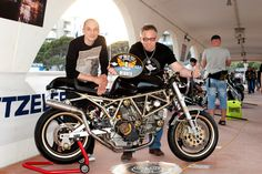 III Place at Italian Motorcycles Championship 2015, Lignano Sabbiadoro Italy – Ducati Cavallo Nero #caferacer http://caferacer-manufacture.com/pl/galerie/