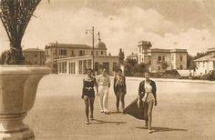 Rimini 1930 circa Hotel Villa Rosa