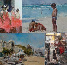 Maravilhosas pinturas por Virgílio Dias/ Amazing painting by Virgílio Dias