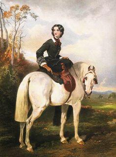 In the Swan's Shadow: Unidentified equestrienne