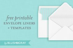 Envelope liners are a great way to personalize your envelopes. They are easy to make and add a beautiful detail to your wedding invitations.What you n