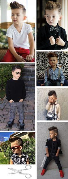 Razor Part: o corte de cabelo masculino infantil que é moda em 2015