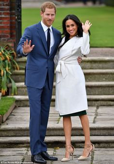 Meghan Markle's likeness will be displayed alongside the waxwork of Prince Harry in Madame Tussaud's in central London