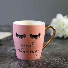 Pink Coffee Cups, Cute Coffee Cups, Little's Coffee, Cute Cups, Coffee Is Life, Tout Rose, Customised Mugs, Hand Painted Mugs, Valentines Mugs