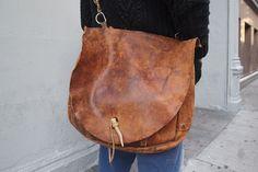 oversized...leather...bag!
