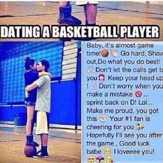 Dating a basketball player
