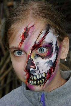 Tanya Maslova face painting design