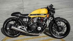Cafe racers scramblers street trackers vintage bikes and much more. The best garage for special motorcycles and cafe racers. Yamaha Cafe Racer, Yamaha 750, Vmax Cafe Racer, Moto Cafe, Cafe Bike, Yamaha Motorcycles, Cafe Racer Motorcycle, Motorcycle Style, Custom Motorcycles