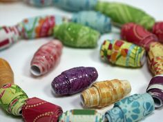 Tutorial: Easy Paper Beads!
