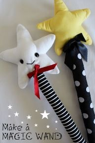 Tutorial: Fairy wand softie · absolutely charming!!