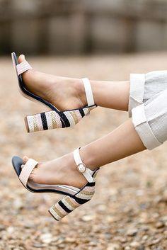 15480a2c11b Ebony Metallic High Heel Sandals By Miss KG
