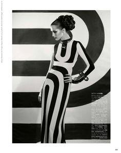 """The Enchanting Promise"" | Model: Alana Zimmer, Photographer: Mark Segal, Vogue Japan, March 2013"