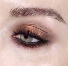 Bronze shadow with liner
