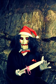 Scary Christmas! by Rat van Abandoned, via Flickr
