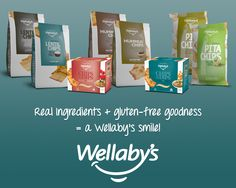 Real Ingredients + gluten-free goodness = a Wellaby's smile!