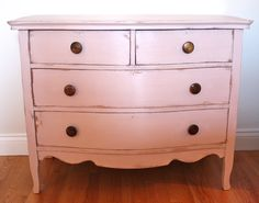 """An old broken pine dresser fixed, repainted, distressed and waxed in Annie Sloan Chalk Paint  """"Antoinette"""" -The Painted Pocket"""