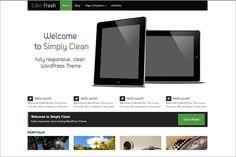 10 Impressive Free WordPress Themes.