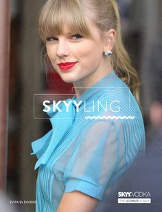 Taylor in #blue.