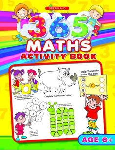 By Dreamland Publications (Author); Book Synopsis 365 Maths Activity Book supported byᅠcolourfulᅠillustrations is full of excellent activities that are easy yet English Activities, Phonics Activities, Brain Activities, Activities For Kids, Children's Book Publishers, Book Publishing, Pre-school Books, Kids Activity Books, Maths