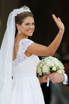 Royal Wedding In Sweden: HRH Princess Madeleine: Gown By Valentino