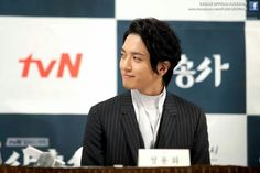 "tvN ""The Three Musketeers"" Production Press Conference - Yonghwa"