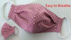 Breathable Face Mask Sewing Tutorial | How to make a Face Mask | Home m... Sewing Hacks, Sewing Tutorials, Sewing Crafts, Sewing Projects, Dress Tutorials, Easy Face Masks, Diy Face Mask, Costura Diy, Diy Vetement