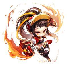 1번째 이미지 3d Model Character, Character Poses, Character Drawing, Game Character, Character Concept, Concept Art, Anime Chibi, Anime Manga, Cute Characters