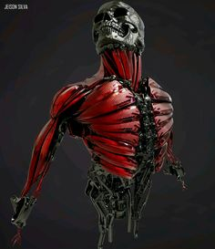 Artificial muscle add on that allows for main muscles to grow on