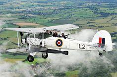 A Swordfish aircraft with the Royal Navy Historic Flight.