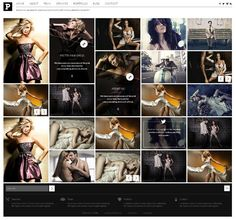 Pretty WordPress Theme on Behance