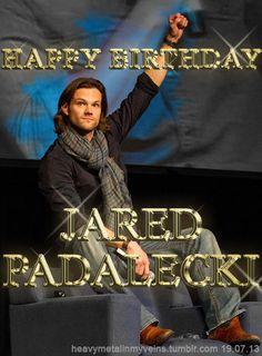 Happy birthday, Jared! <3