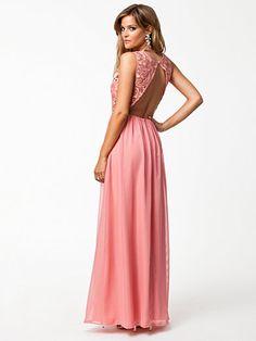 Jo Long Dress - Nly Eve - Ljus Rosa - Festklänningar - Kläder - Kvinna - 6c7497fc02670
