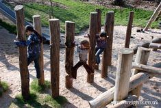 Playground Build & Design | Natural, Wood | EarthWrights