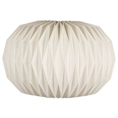 Broste Copenhagen Large Paper Lightshade ($52) ❤ liked on Polyvore featuring home, home decor, white home decor and inspirational home decor