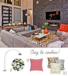 40 splendides façons de décorer avec une lampe en arc | LC Living