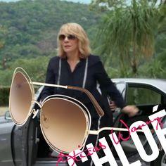 A milionária Eleonora vivida por Renata Sorrah, usou óculos Chloé no  capítulo de ontem da 9a4acb1253