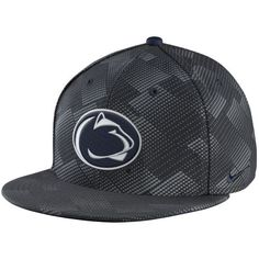 quality design 105e1 462d3 Penn State Nittany Lions Nike True Adjustable Snapback Hat - Anthracite