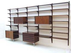 Poul Cadovius Shelf, wall unit, rosewood | Inside Room