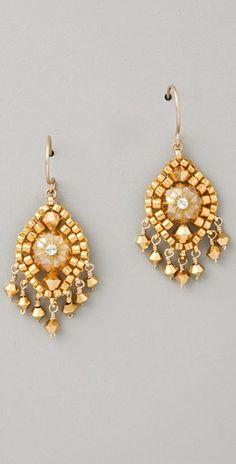 Miguel Ases Swarovski Mini Earrings