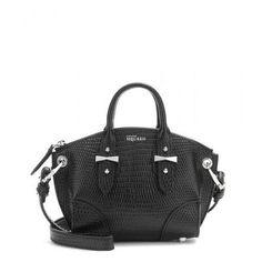 PLS ❤️ Alexander McQueen - Legend Mini leather shoulder bag #handbag #alexandermcqueen #women #designer #covetme
