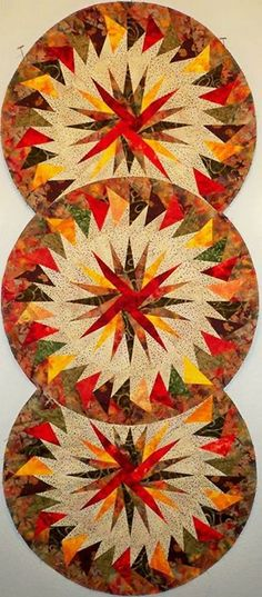 Seasonal Table Runner, Quiltworx.com, Made by CI Connie Lange