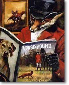"""""""Tweedland"""" The Gentlemen's club: Horse & Hound"""