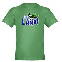 Get Orf My Land! #Mens Fitted #TShirt £21/$27.59 www.creamtees.net #worldwideshipping