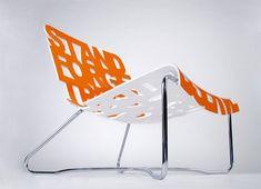 Cool orange design!  #kleurinspiratie